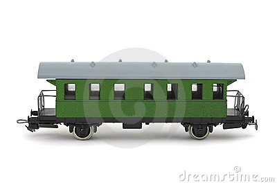 Toy passenger wagon