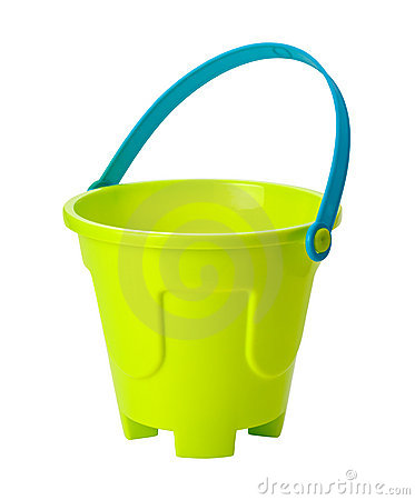 Toy Sand Pail (clipping path)