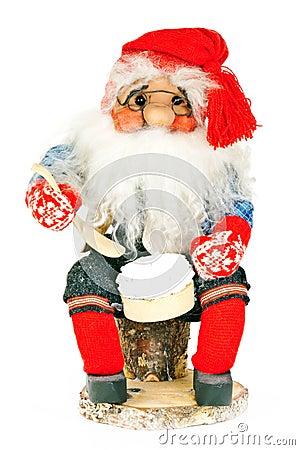 A toy Santa claus