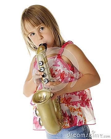 Free Toy Sax Tooter Stock Photos - 26657513