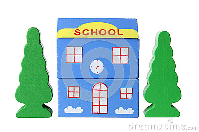 Toy School Building