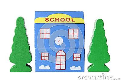 Toy School Building
