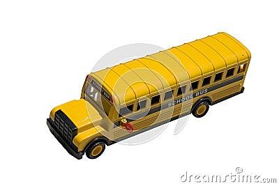 Toy School Bus Top