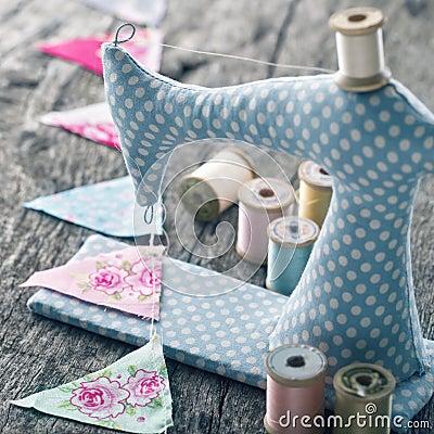 Free Toy Sewing Machine Stock Image - 76757761