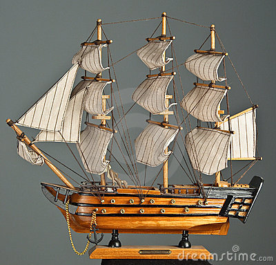 Free Toy Ship Royalty Free Stock Photography - 7995197