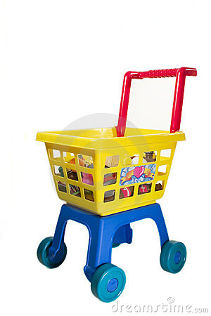 Toy Shopping Chariot Royalty Free Stock Photos - Image: 319688