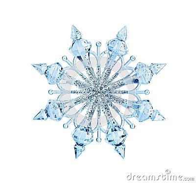 Free Toy Snowflake Royalty Free Stock Photos - 46496418