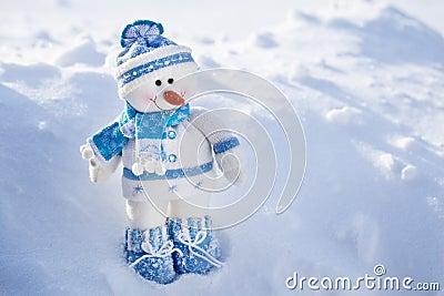Toy snowman.