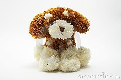A toy - soft dog