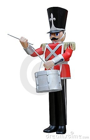 Toy Soldier Drummer
