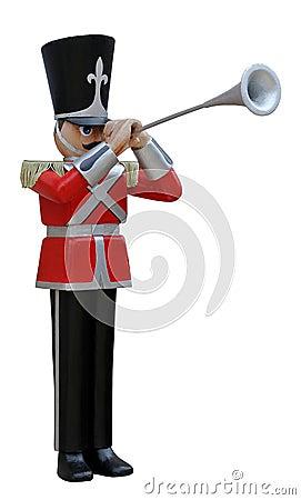Toy Soldier Trumpeter