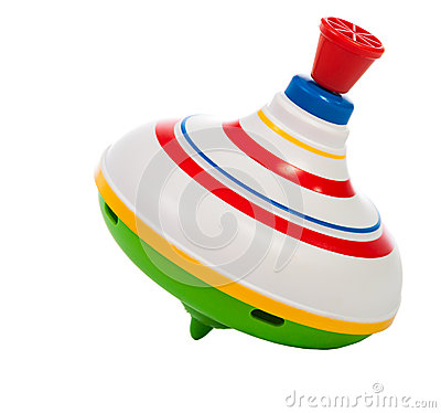 Free Toy Spinning Top Stock Images - 33647254