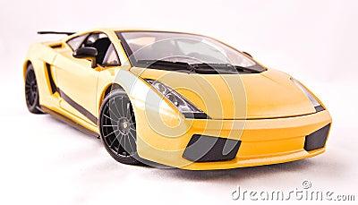 Toy sport car