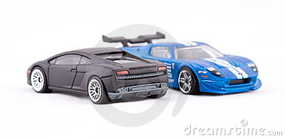 Toy sport cars