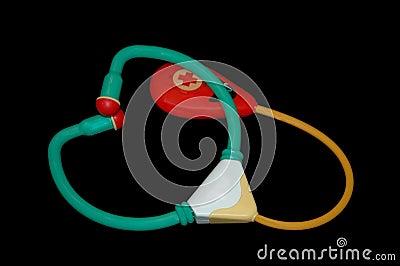 Toy stethoscope