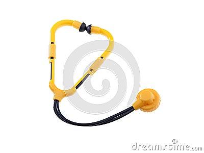 Toy Stethoscope Isolated