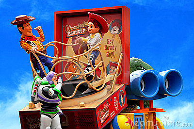 Toy Story parade, Disney, Disneyland Editorial Photo