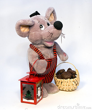 Toy Stuffed Rat or Mouse