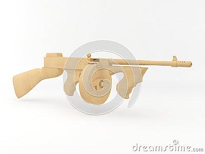 Toy tommy-gun