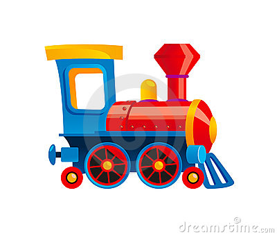 Toy Train Royalty Free Stock Image - Image: 16120676