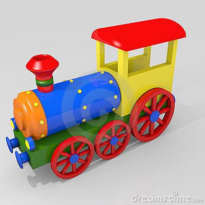 Free Toy Train Royalty Free Stock Photography - 23236207