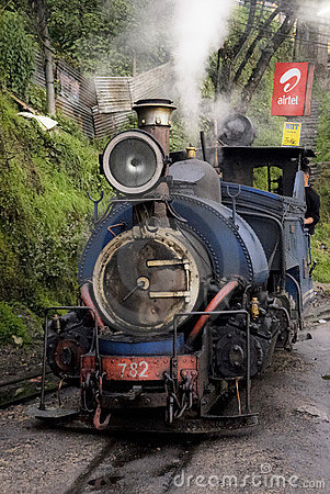 Toy Train in India Editorial Stock Image