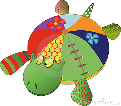 Toy Turtle Stock Image - Image: 13970701