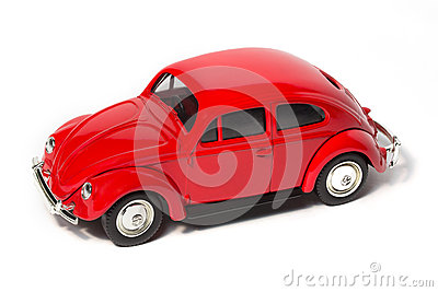 Toy Volkswagen Beetle Editorial Stock Image