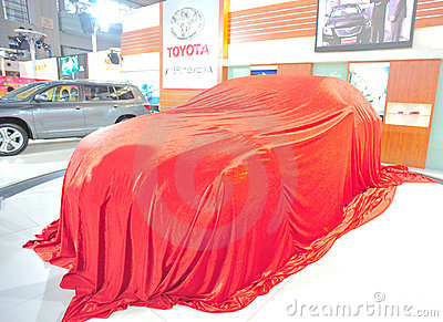 Toyata new car launch event Editorial Image