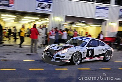 TOYO TIRES 24H of Dubai 2008 Editorial Stock Image