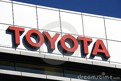 Toyota Editorial Stock Image