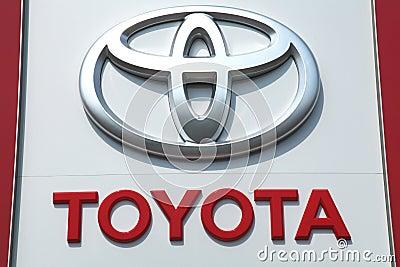 Toyota Editorial Photo