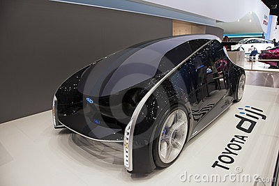 Toyota Diji Concept car Editorial Image