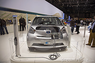 Toyota EV Prototype Editorial Stock Photo
