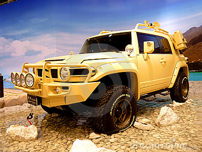 Toyota FJ Cruiser Desert Editorial Photo