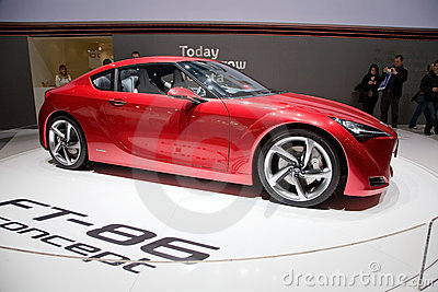 Toyota FT-86 Concept Car Editorial Stock Photo
