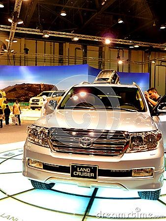Toyota Land Cruiser Editorial Photography