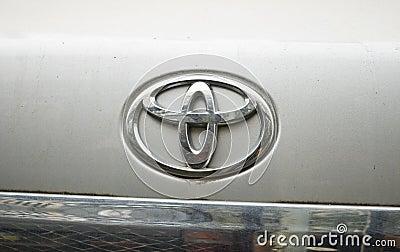 Toyota logo Editorial Photography