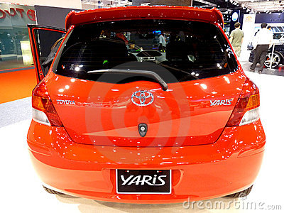 Toyota Yaris Editorial Photo