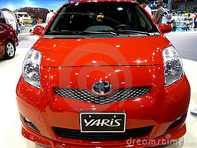 Toyota Yaris Editorial Photography