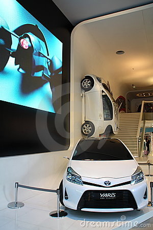 Toyota-Yaris Fotografia Editoriale
