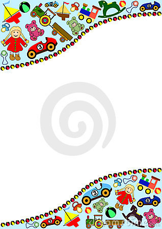 Free Toys Background Royalty Free Stock Photo - 5001975