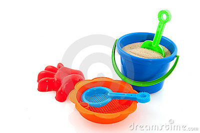 Toys for the beach