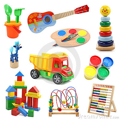 Free Toys Collection Stock Photography - 6414312