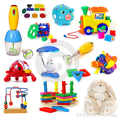 Free Toys Collection Royalty Free Stock Photos - 7656938