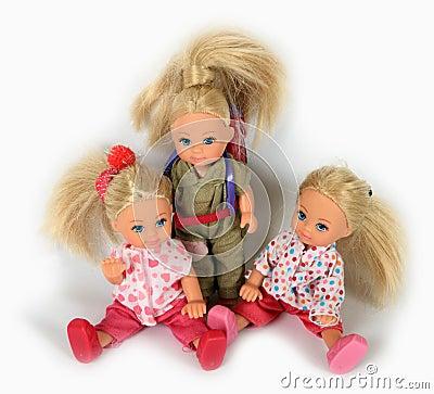 Free Toys Dolls Royalty Free Stock Photo - 21177585