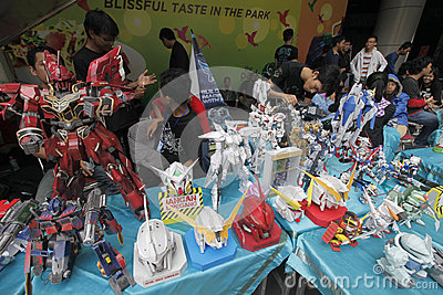 Toys exhibition Editorial Image