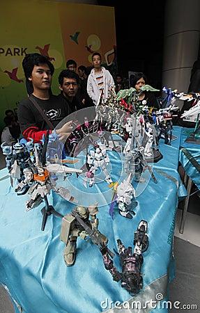 Toys exhibition Editorial Photography