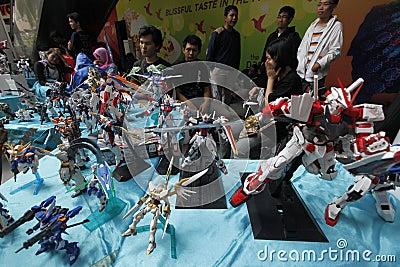Toys exhibition Editorial Stock Photo