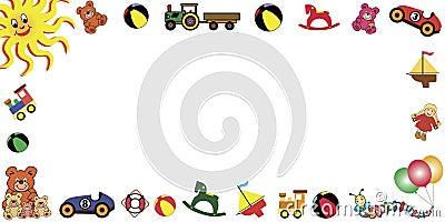 Toys frame horizontal
